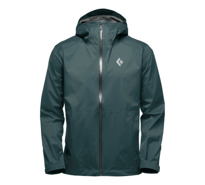 Jacket de lluvia Black Diamond StormLine Stretch - Deep Forest