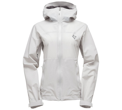 Jacket de lluvia Black Diamond StormLine Stretch - Mujeres (Aluminum)