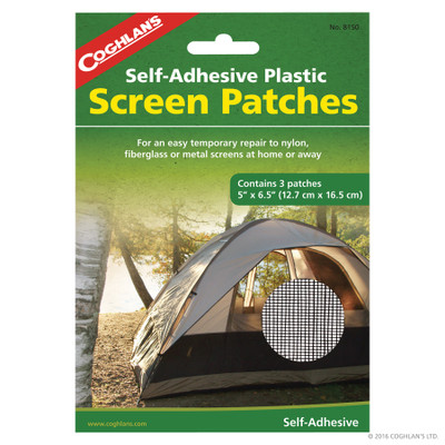 Parches para malla Coghlan's Screen Patches