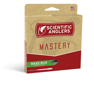 Línea de fly Scientific Anglers Mastery Bass Bug