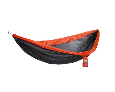 Hamaca Ultraligera ENO Super Sub - Charcoal/Orange