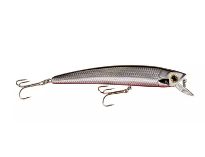 Señuelo Tourney Special Minnow - Chrome/Black Back