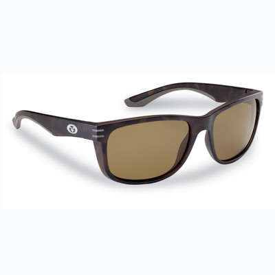 Lentes Flying Fisherman Double Header - Matte Tortoise Amber