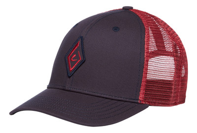 Gorra Black Diamond BD Trucker Hat - Carbon/Wild Rose