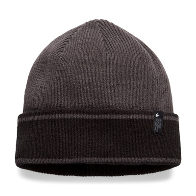 Gorro Black Diamond Cuffed Beanie - Anthracite/Black