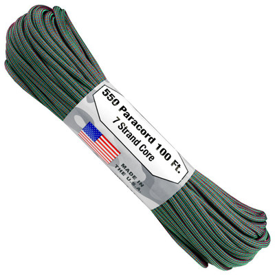 Paracord 550 Atwood Ropes Color Changing - 100 ft (Chameleon)