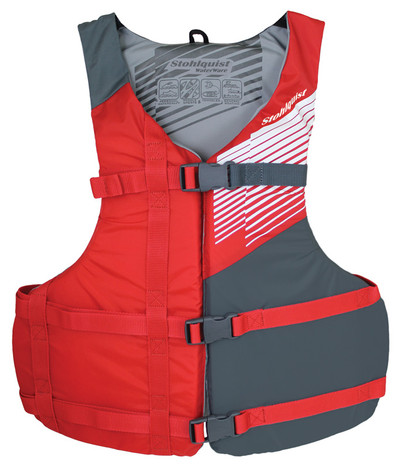 Chaleco Stohlquist Fit Rojo