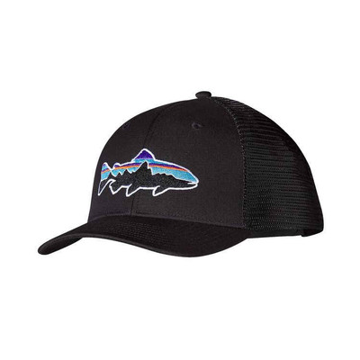 Patagonia Fitz Roy Trout Trucker Hat - Black (BLK)