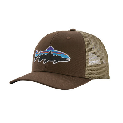 Patagonia Fitz Roy Trout Trucker Hat - Bristle Brown (BTBR)