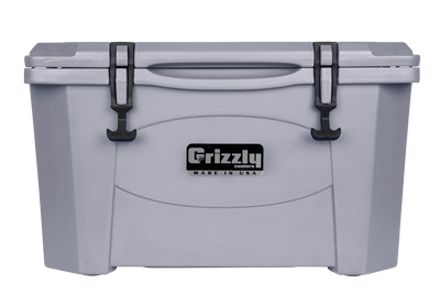 Hielera Grizzly 40 - Gris