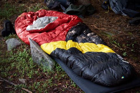 Cómo escoger bolsa de dormir