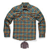 Howler Brothers Stockman Flannel Snapshirt: Sabine Plaid