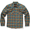 Howler Brothers Stockman Flannel Snapshirt: Sabine Plaid