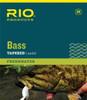 RIO Nylon Bass Fly Leaders - 9'