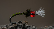 Another great pattern created by Greg Garcia in this weeks Tying Tuesday - Rojo Midge