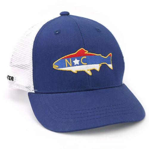 RepYourWater North Carolina Trout Mesh Back Hat