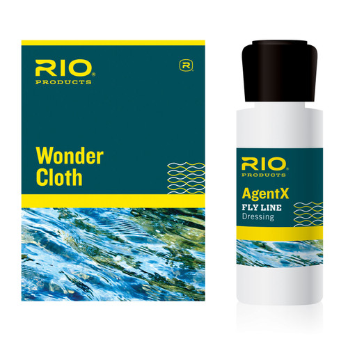 RIO AgentX Line Cleaning Kit Dressing With Wonder Cloth