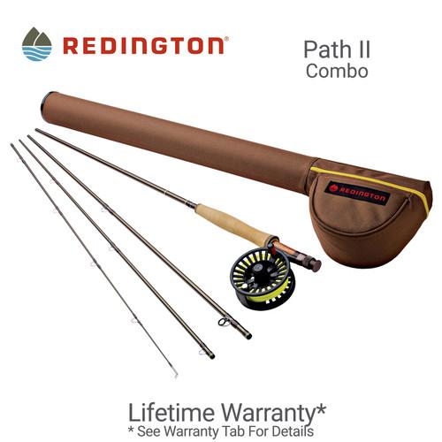Redington Path II Combo Fly Rod Outfit