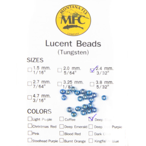 MFC Tungsten Lucent Beads