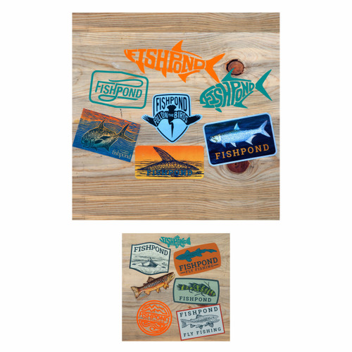 Fishpond Fly Fishing Sticker Bundle