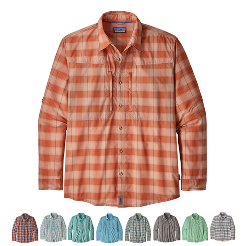 Patagonia Men's Long-Sleeved Sun Stretch Shirt