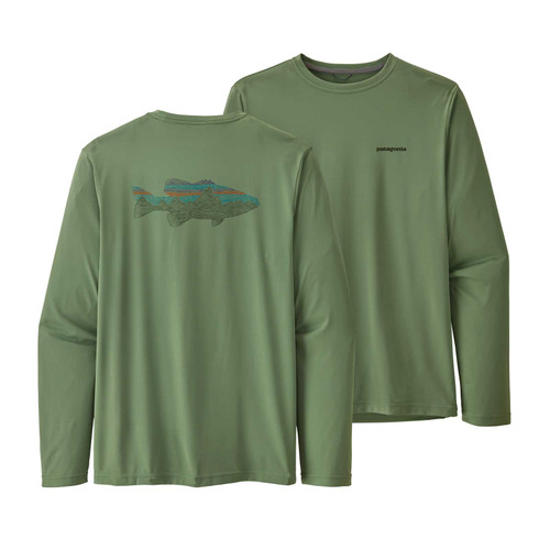 e5a552133 Patagonia Women's Long-Sleeved Capilene® Cool Daily Graphic Shirt ...