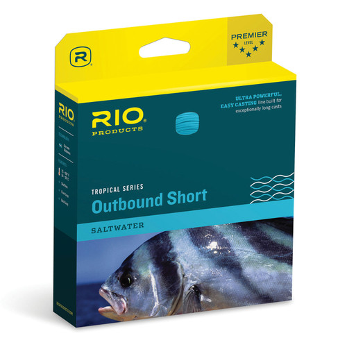 RIO Tropical OutBound Short Saltwater Floating Fly Line
