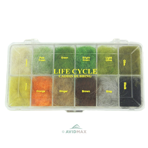 Wapsi Dubbing Dispenser - Life Cycle Caddis