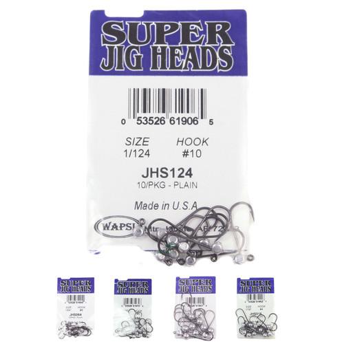 Wapsi Super Jig Heads - Plain