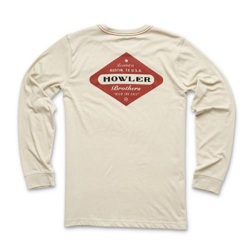 Howler Brothers Posse Badge Longsleeve T-Shirt