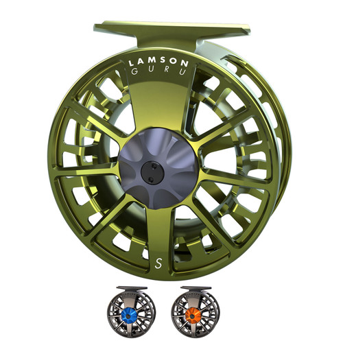 Waterworks-Lamson Guru S-Series Fly Fishing Reel
