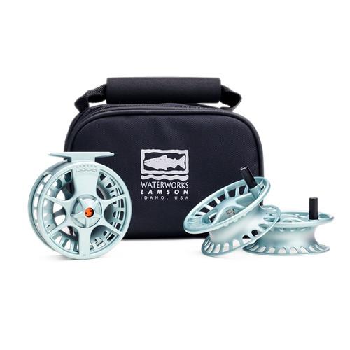 Waterworks-Lamson Liquid 3-Pack-Full Reel and 2 Spare Spools