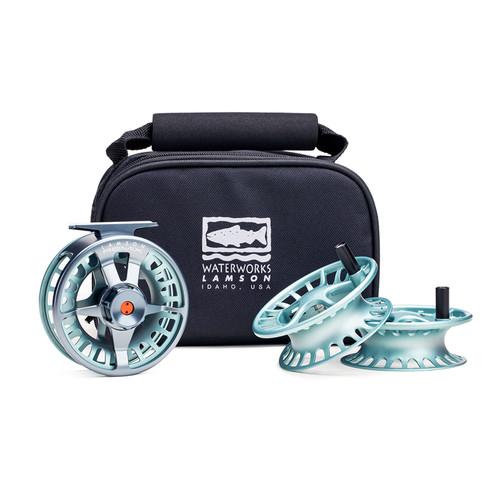 Waterworks-Lamson Remix  3-Pack-Full Reel & 2 Spare Spools