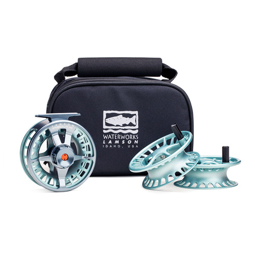 Waterworks-Lamson Remix  3-Pack-Full Reel & 2 Spare Spools
