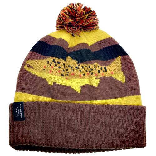 RepYourWater Digi Brown Knit Hat