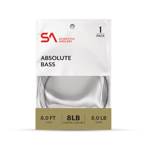 Scientific Anglers ABSOLUTE STREAMER Leader 8LB-12LB