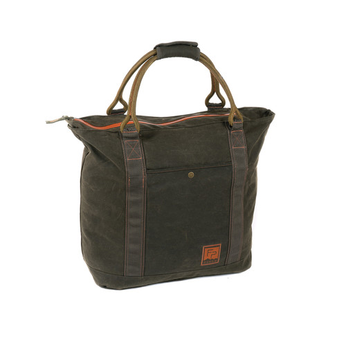 Fishpond Fishpond Horse Thief Waxed Canvas Tote w/ Hanging Interior Pocket