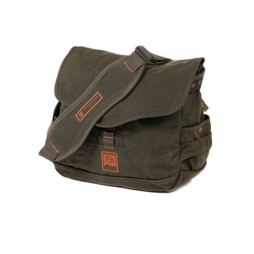 Fishpond Fishpond Lodgepole Fishing or Around Town Waxed Canvas Satchel