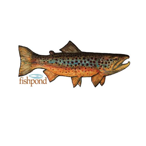 Fishpond Local Sticker- 6