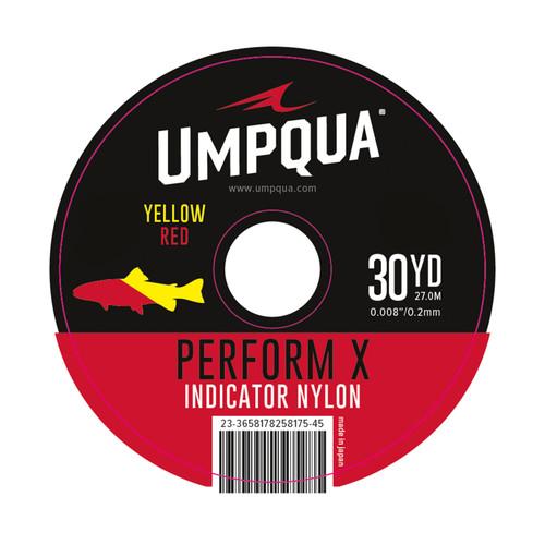 Umpqua Umpqua Indicator Tippet Red/Yellow