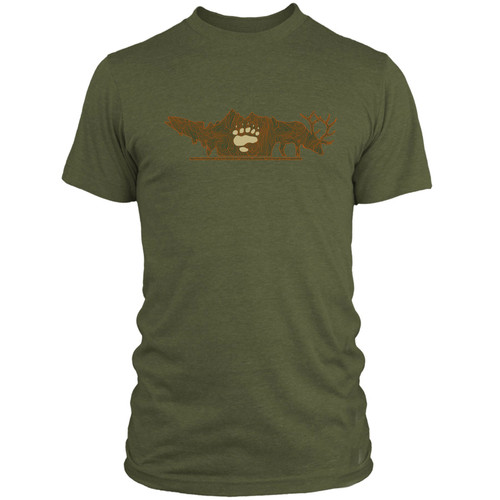 RepYourWater RepYourWater Backcountry Hunters And Anglers Collab T-Shirt