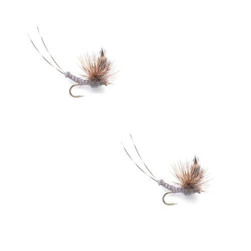 Umpqua Adams Superfly Gray 2 Pack