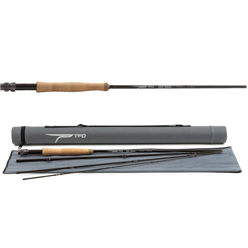 Temple Fork Outfitters Blue Ribbon 4 Piece Fly Rod with Rod Tube