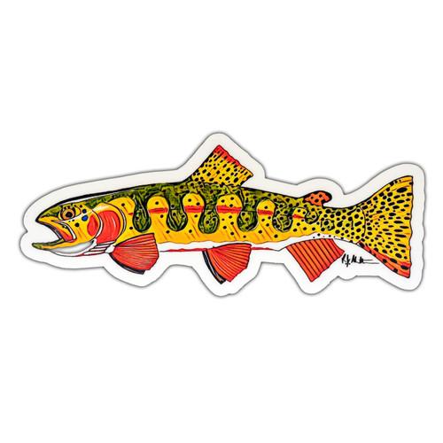 AvidMax AvidMax Greenback Cutthroat Sticker