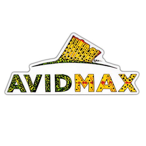 AvidMax AvidMax Greenback Cutthroat Skin Logo Sticker