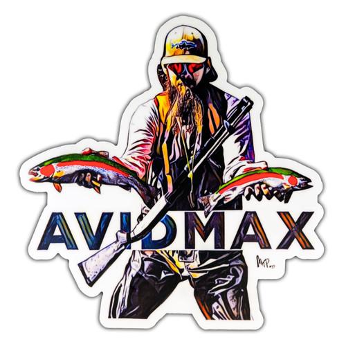 AvidMax AvidMax Rainbow Rambow Sticker