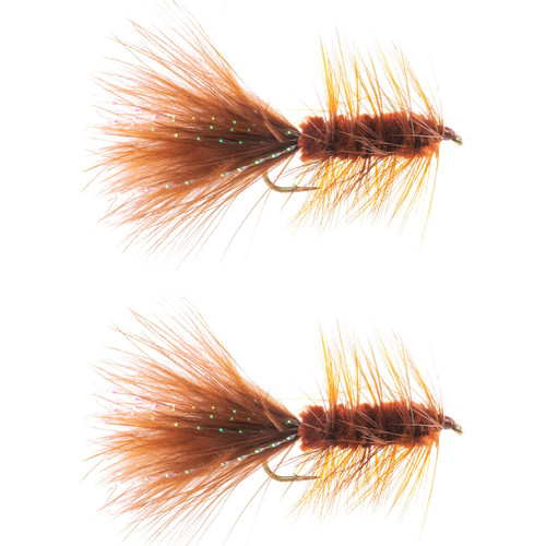 Umpqua Umpqua Wooly Bugger Brown 2 Pack