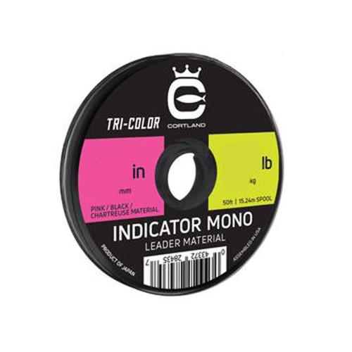 Cortland Cortland Indicator Mono Leader Material