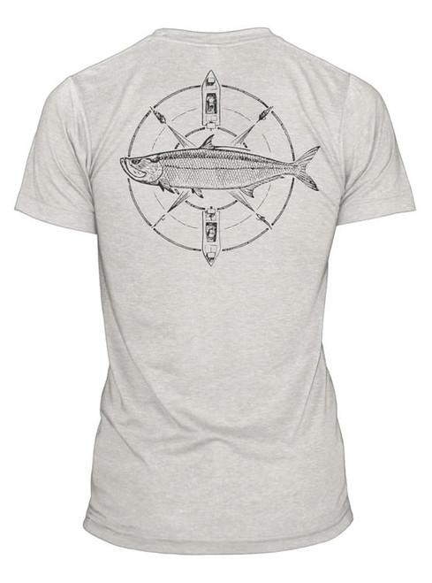 RepYourWater RepYourWater Tarpon Compass Tee