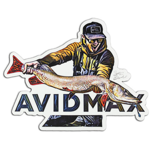 AvidMax AvidMax Prehistoric Predator Sticker